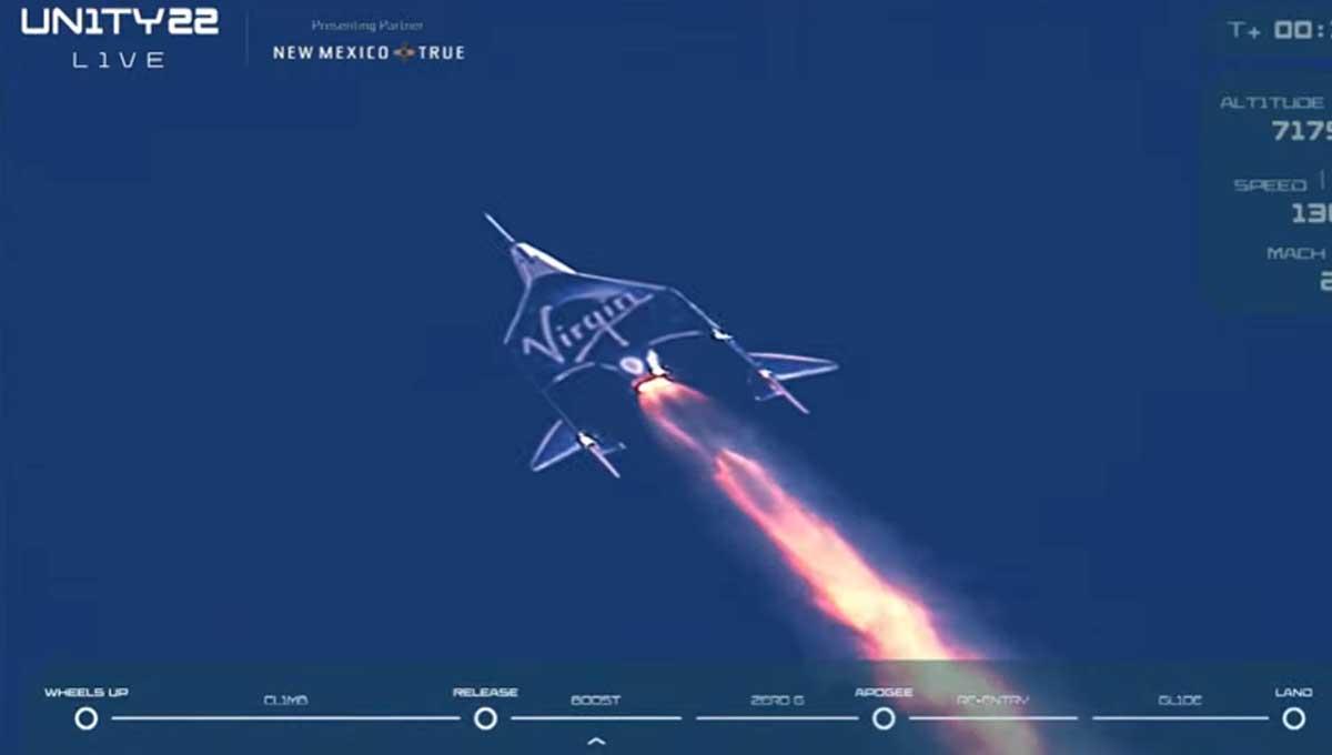 Richard Branson es el primer millonario en ir al espacio; sigue el viaje EN  VIVO » Centro Noticias Tamaulipas